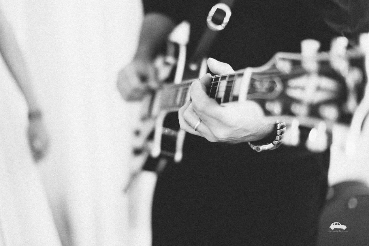 chitarra per ricevimento di matrimonio