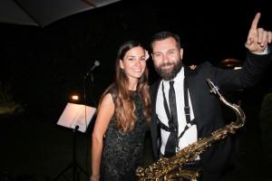 musica matrimonio roma sax jazz